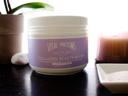 lavender lemon collagen water