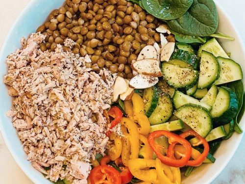 Clean Eats Challenge Salad