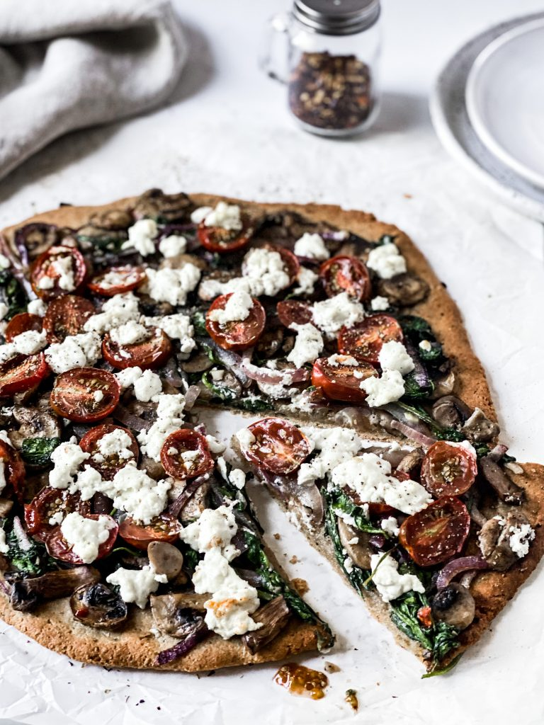 Pizza Bianca AKA Pizza without Tomato Sauce