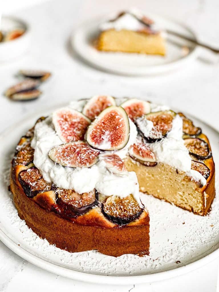 The Best Coconut Fig Cake