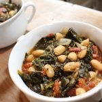 kale and white bean soup with bone broth