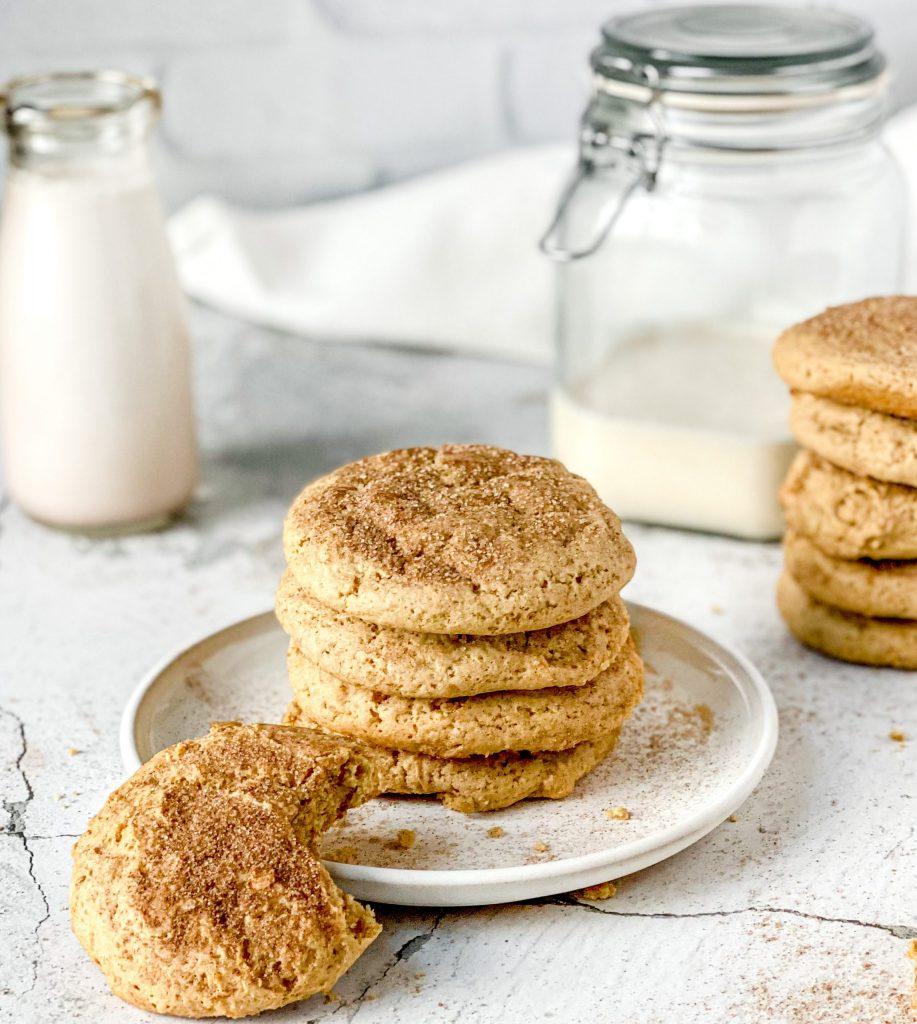 Pillowy Sour Dough Sugar Cookies