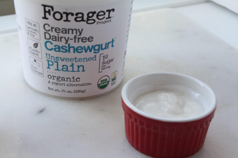 non dairy cashew plain yogurt