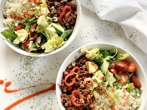 Easy Taco Bowl Salad for Dinner