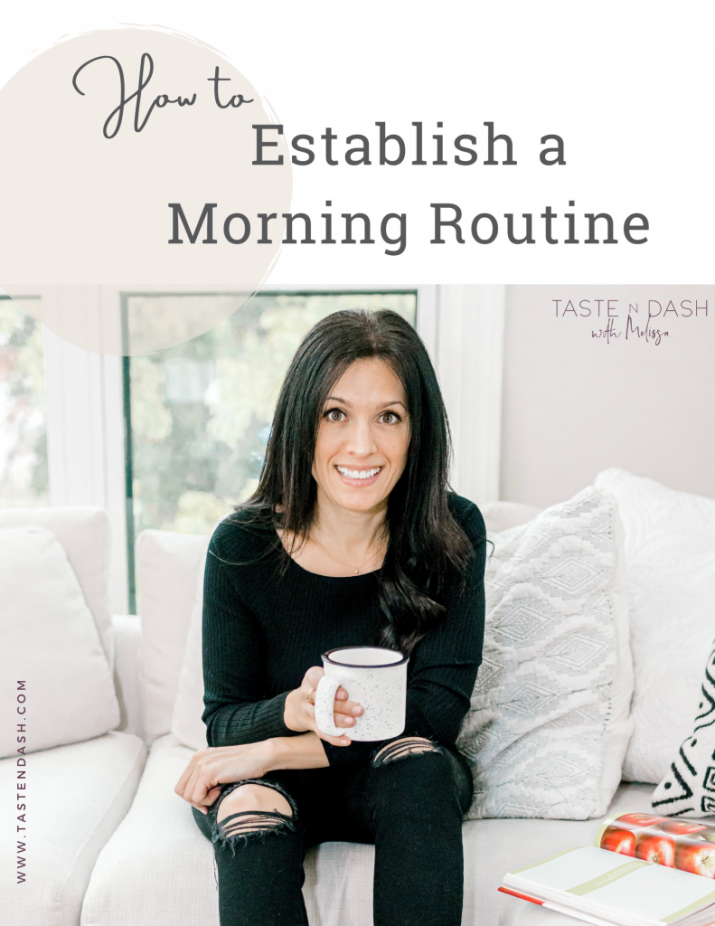 How to establish a Morning Routine